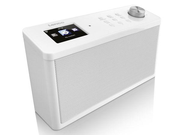 Lenco KCR-2014 Internetradio WLAN mit FM (auch als Küchenradio unterbaubar)