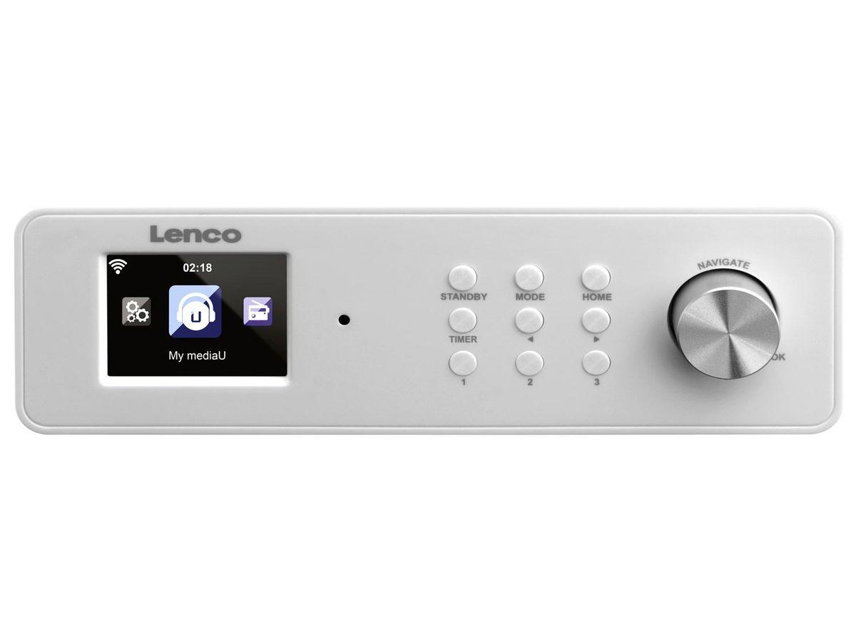 Bild 3 von Lenco KCR-2014 Internetradio WLAN mit FM (auch als Küchenradio unterbaubar)