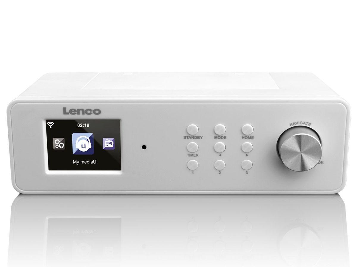 Bild 4 von Lenco KCR-2014 Internetradio WLAN mit FM (auch als Küchenradio unterbaubar)