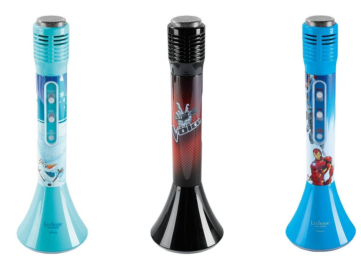 Bild 1 von LEXIBOOK Bluetooth Karaoke Mikrofon mit eingebautem Lichtlautsprecher