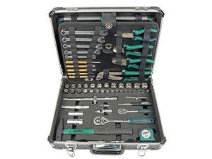 BRÜDER MANNESMANN Alu-Werkzeugkoffer, 160-teilig