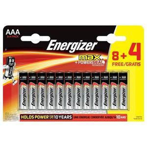 Max AAA 8+4er, Batterien