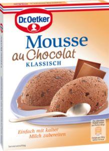 Mousse au Chocolat Dr. Oetker für 250 ml Milch