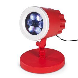 FCB LED-Motivstrahler 7,5W rot mit Logo