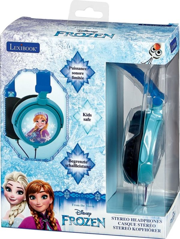 Disney Kinderkopfhörer - Frozen, Blau/Schwarz