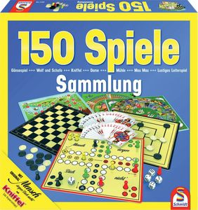 Schmidt Spielesammlung mit 150 Spielen