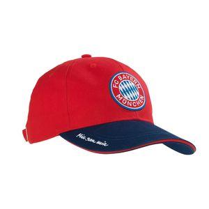 FCB Cap Mia san Mia blau/rot mit Logo