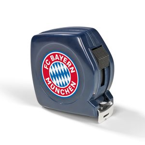 FCB Maßband 5m blau mit Logo