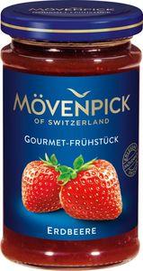 Mövenpick Gourmet Frühstück Konfitüre Erdbeere, 250g