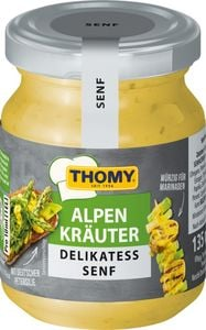 Thomy Senf Alpenkräuter, 135 ml