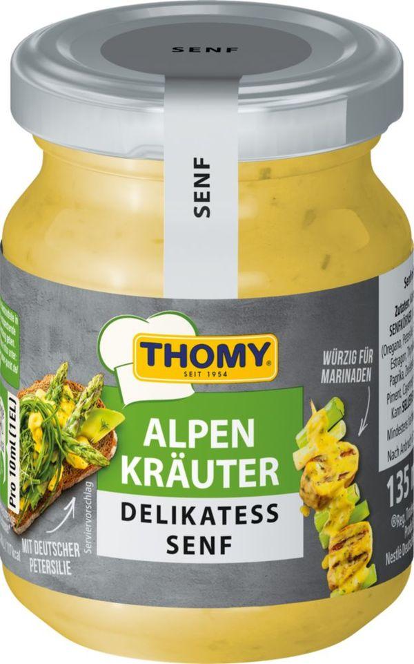 Thomy Senf Alpenkräuter, 135 ml