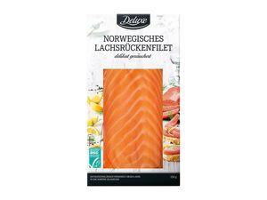 Norwegisches Lachsrückenfilet