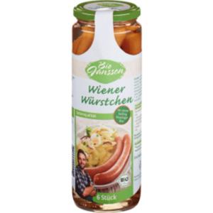 Bio Janssen Wiener Würstchen