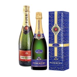 Champagner Pommery Brut Royal, Piper-Heidsieck Brut