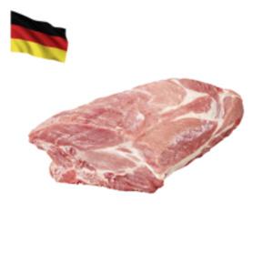 Deutscher frischerSchweinenacken mit Knochen
