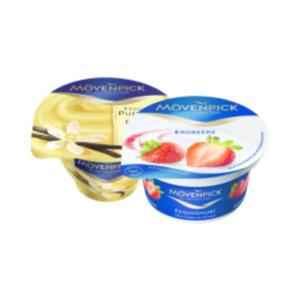 Mövenpick Sahnepudding oder Feinjoghurt