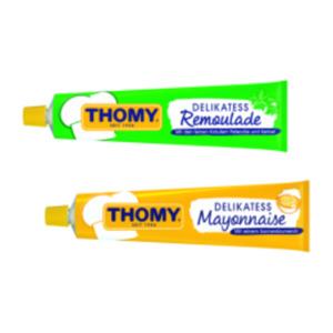 Thomy Delikatess Mayonnaise oder Delikatess Remoulade