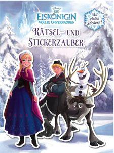 Die Eiskönigin - Rätsel- und Stickerzauber - mit vielen Stickern!