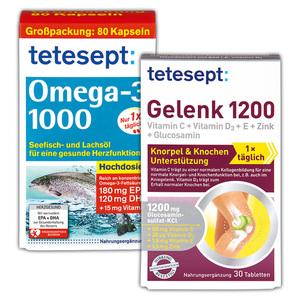 Tetesept Gelenk 1200 / Omega-3 1000