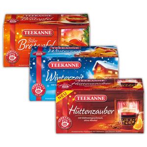 Teekanne Winterzeit Tee