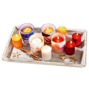 Bella Casa Maxi-Duft-Stumpen-Kerzen Set