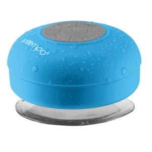»Intempo« Dusch-Lautsprecher wasserfest blau