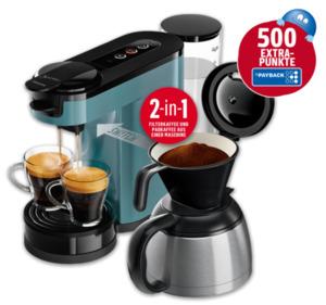 PHILIPS Senseo Switch 2-in-1-Kaffeemaschine HD6591/40