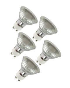GU10 Leuchtmittel mit 3 Watt und 260 Lumen - 5 Stück Luceco