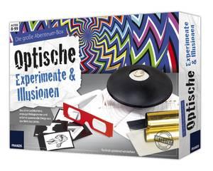 Die große Abenteuer-Box Optische Experimente und Illusionen Franzis-Verlag
