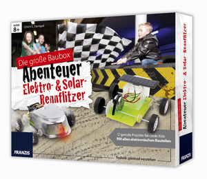 Abenteuer Baubox Elektro- & Solar-Rennflitzer Franzis-Verlag