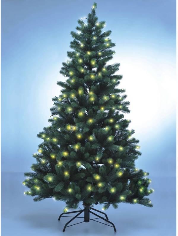 Lichterkette Weihnachtsbaum.Weihnachtsbaum Mit Led Lichterkette Verschiedene Größen Xenotec