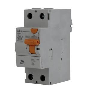25A Fehlerstromschutzschalter 2-polig 30mA AEG