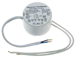 Elektronischer Rundtrafo 35-105VA 52 mm Durchm.,230/ 11,6 Volt Heitronic