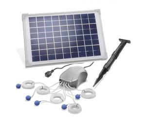 Solar Teichbelüfter mit 10W Solarmodul, max. 5 x 120l/h Esotec