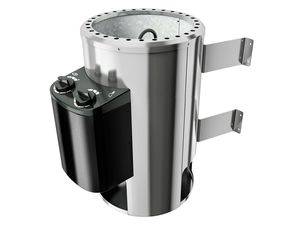 Karibu Plug&Play Saunaofen mit eingebauter Steuerung 3,6 kW inkl. 18 Kg Steinen