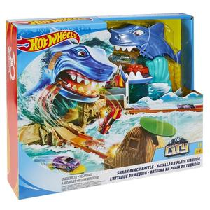 Mattel Hot Wheels Hai Strandattacke