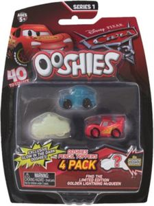 Ooshies Sammelfiguren Stifteaufsatz/Pencil-Topper Cars 3, 4 Stück