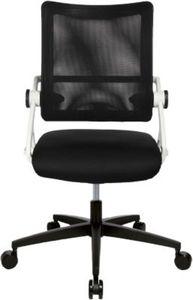 Drehstuhl New S´move white - Edition, schwarz/weiß