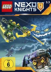 DVD LEGO Nexo Knights Staffel 3.3