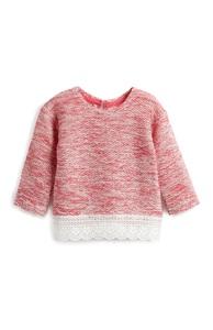 Pullover mit Rüschensaum für Babys (M)