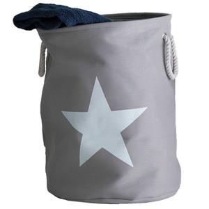 Wäschekorb Stars (grau, Stern)