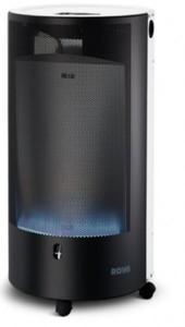 Rowi Gas-Heizofen HGO 4200 W mit Thermostat ,  Blue Flame Pure, weiß