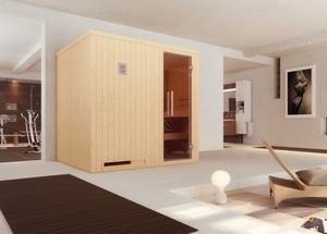 Weka Element-Sauna HALMSTAD 2 ,  mit Glastür