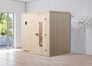 Weka Element-Sauna HALMSTAD 1 ,  mit Holztür
