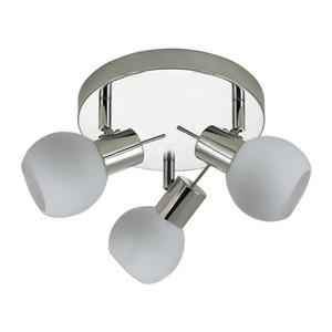 TrendLine LED 3er Rondell Magic I chrom