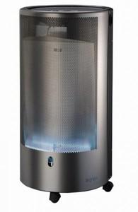 Rowi Gasheizofen Blue Flame Pure ,  4200 W, Inox, ohne Thermostat