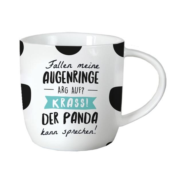 Tasse ´´Fallen meine Augenringe arg auf´´ 21,78 € / 1000g