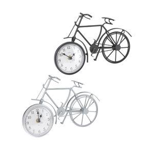 Metalluhr in Fahrrad-Form, ca. 29x8,5x19cm
