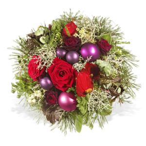 Merry Christmas - Fleurop Weihnachtsstrauß