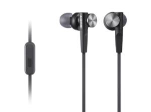 SONY MDR-XB50AP Extra Bass, In-ear Kopfhörer, Headsetfunktion, Schwarz